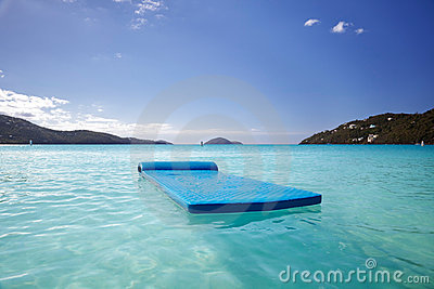 Float in Magens bay