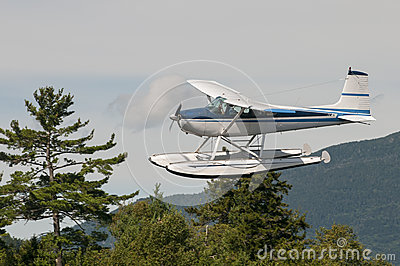 Float plane or seaplane
