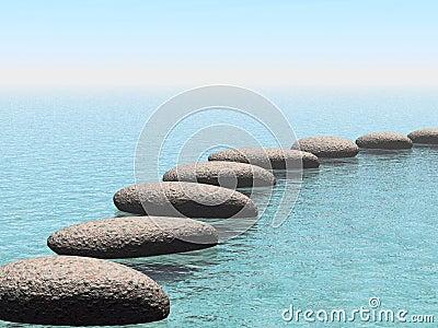 Float stones