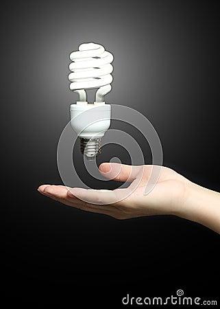 Floating fluourescent light