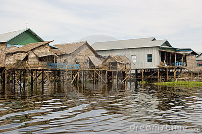 Floating Homes, Tonle Sap lake, Cambodia
