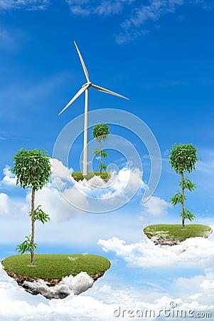 Floating Islands, ecology concept