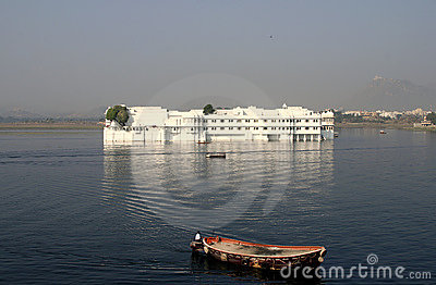 Floating lake palace udaipur india