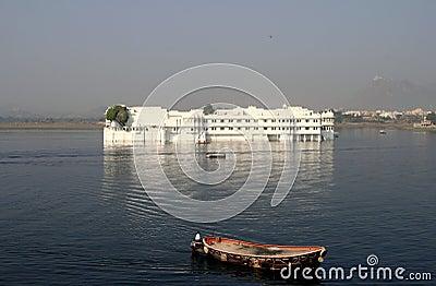 Floating lake palace udaipur india