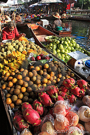 Free Floating Market.thailand Stock Photography - 14928062
