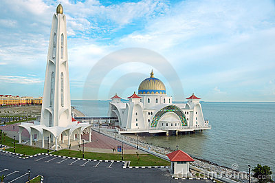 Floating Mosque of Malacca Straits