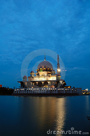 Floating Mosque of Putrajaya