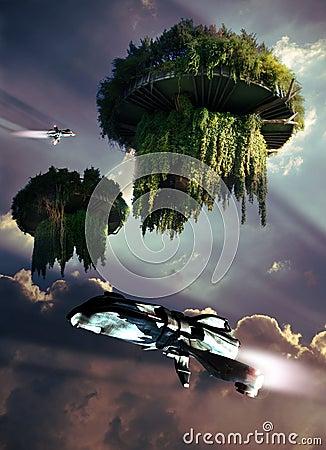 Floating paradises