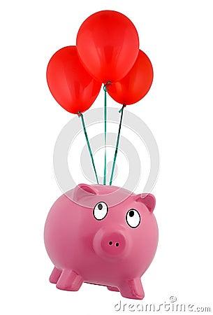 Floating Piggy Bank