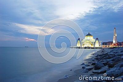 Floating Selat Melaka Mosque