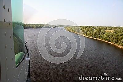 Floatplane Landung