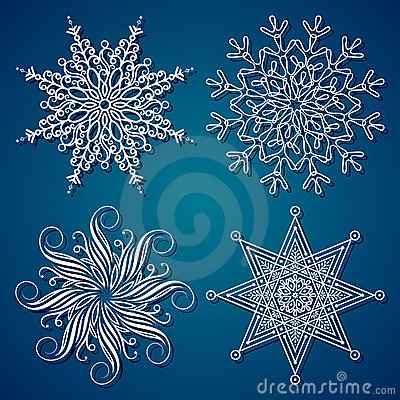 Flocon de neige d élégance