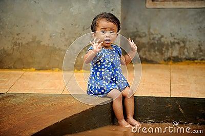 Flood, Child Playing