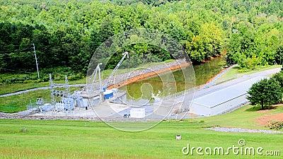 Flood control Chatuge dam