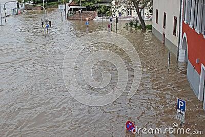 Flood in Heidelberg