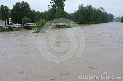 Flood Editorial Stock Image