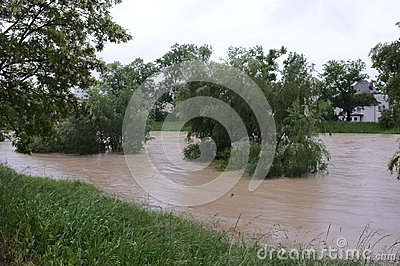 Flood Editorial Image