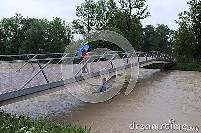 Flood Editorial Photography