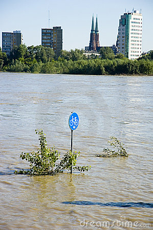 Flood in Poland - Warsaw