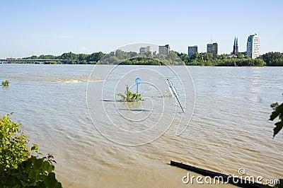 Flood in Poland - Warsaw