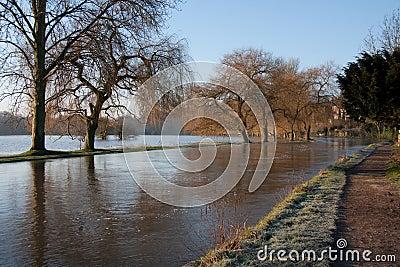 Flooded River