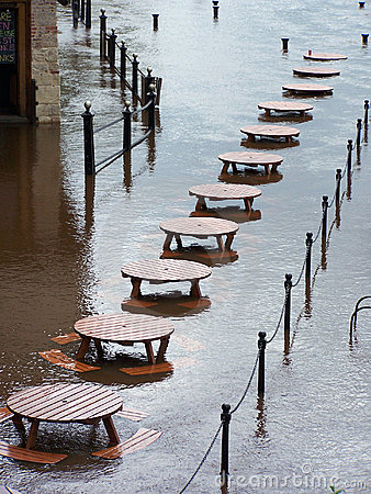 Flooded tables