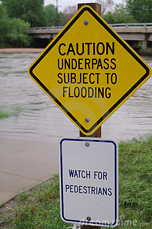 Flooding Editorial Stock Photo