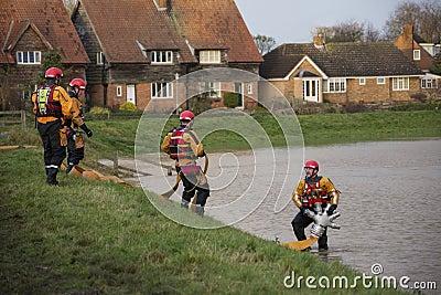 Flooding - Yorkshire - England Editorial Photo