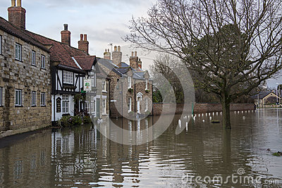 Flooding - Yorkshire - England Editorial Image