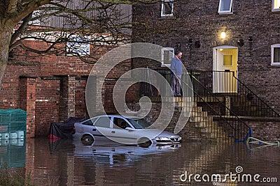 Flooding - Yorkshire - England Editorial Image