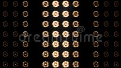 Floodlights_083 stock footage