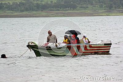 Floods Rescue Editorial Stock Photo