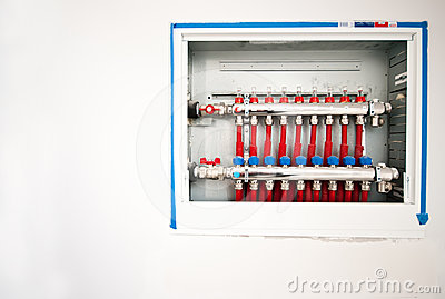 Floor heating panel