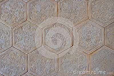 Floor texture decoration