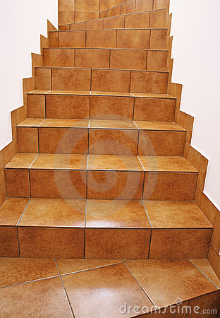 ... Tile Staircase : Floor Tile Stairs Royalty Free Stock Photos Image ...