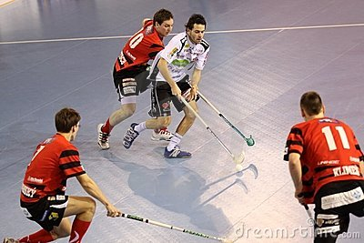 Floorball Editorial Photography