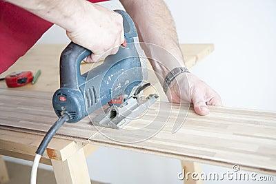 Flooring at home