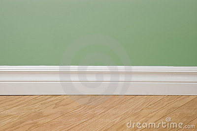 Flooring and wall detail