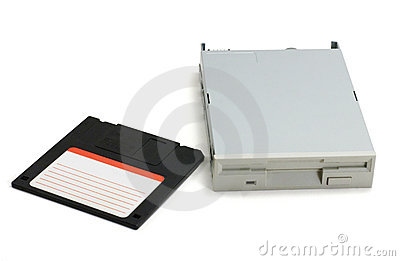 Floppy disk and drive