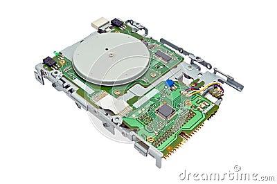 Floppy diskaandrijving