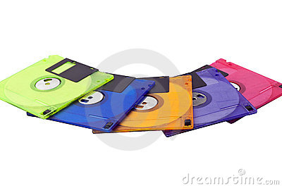Floppy Disks Spread