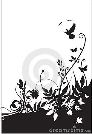 Flora and fauna background