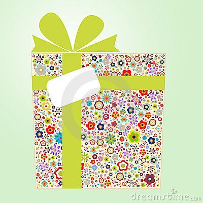Free Flora Gift Box Royalty Free Stock Image - 20976316