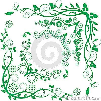 Floral γωνία