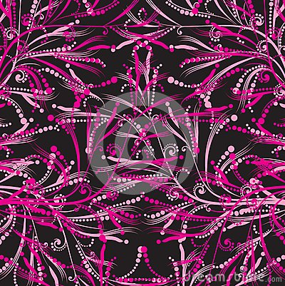 Floral ροζ προτύπων