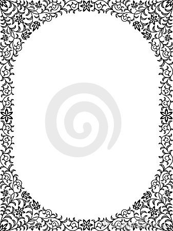 Floral τρύγος πλαισίων