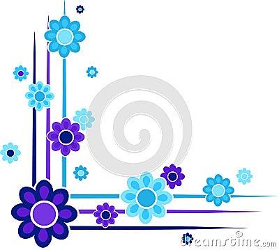 γωνίες floral