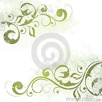 καλλιτεχνικό floral μοτίβο