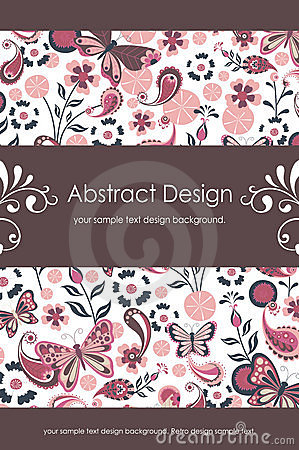 Floral Abstract Background 1-5