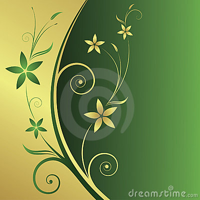 Free Floral Abstract Background Royalty Free Stock Images - 4694609